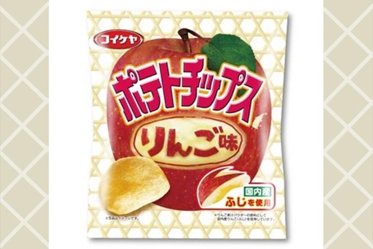 湖池屋から「ポテトチップス りんご味」の発売迫る! 朝食マーケットがターゲット!?