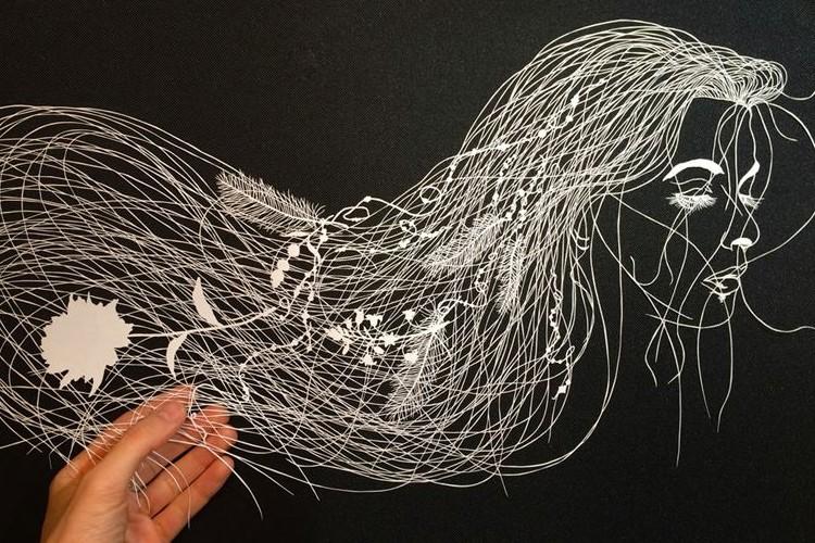 まさに職人技!紙の繊細さを愛する切り絵アーティストの作品にビックリ!!