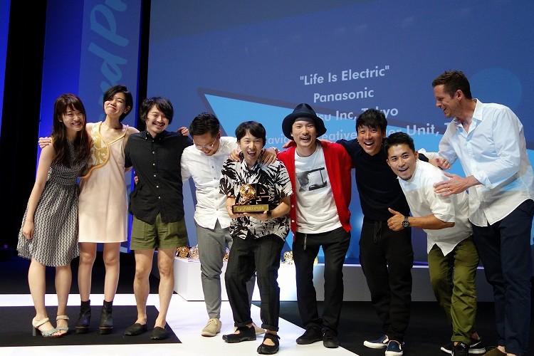 【快挙】世界最大の広告祭で電通が初のグランプリ!パナソニック「Life is electric」