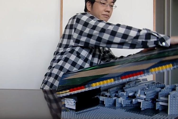 製作期間15ヶ月!レゴで作った飛び出る姫路城がスゴすぎる!