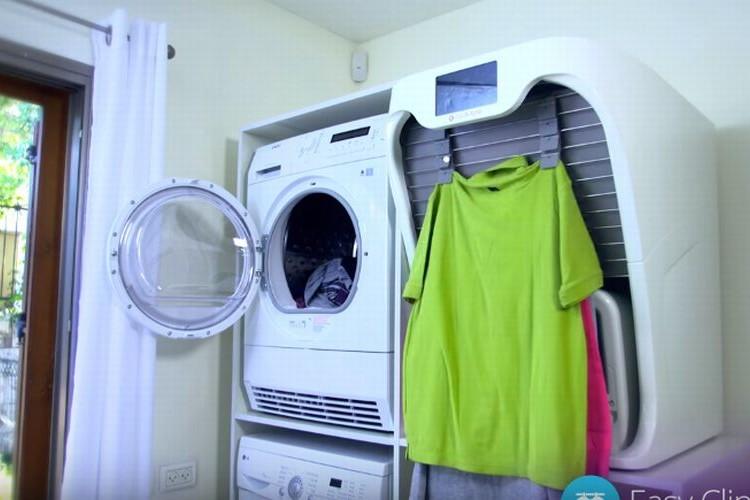 これは欲しい!洋服を自動でたたんでくれる洗濯マシーンが開発中