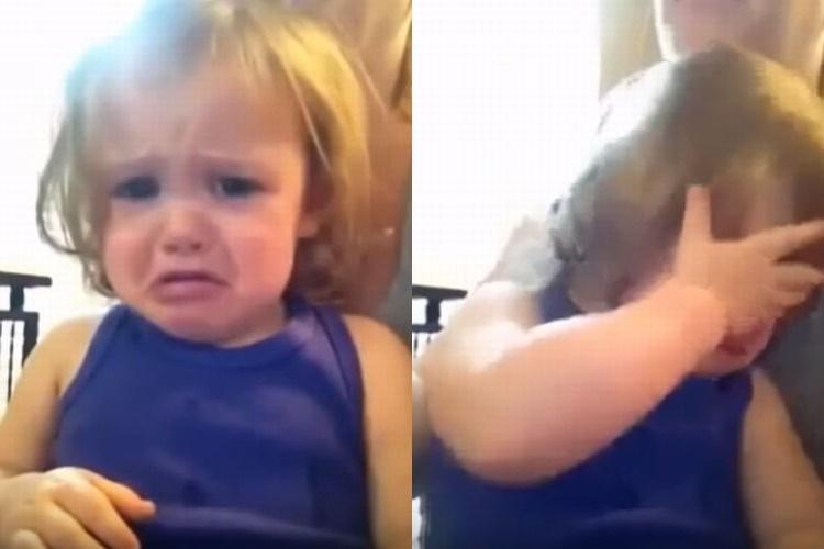 天国のママの歌声に涙する少女にもらい泣きしてしまう