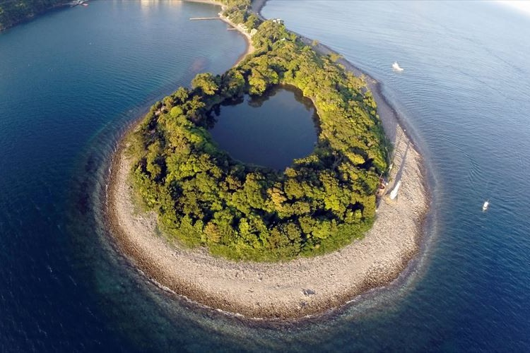 これぞ神秘…海水に囲まれた淡水『大瀬の神池』の不思議な魅力とは