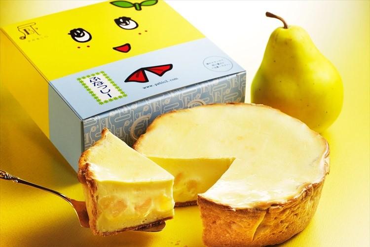 【期間・数量限定】洋梨のコンポートたっぷり!「ふなっしー焼きたてチーズタルト」登場!