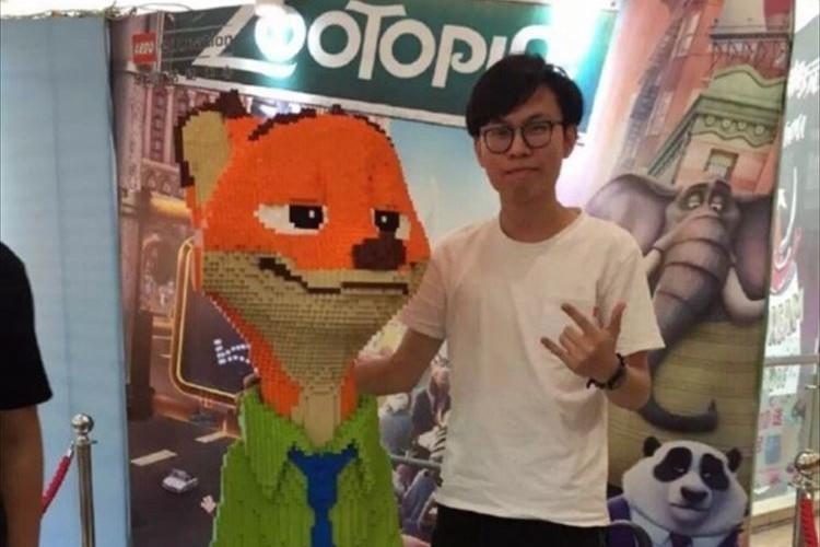 【中国の惨事】3日間徹夜して巨大レゴ完成!→展示後に子供が1時間で破壊