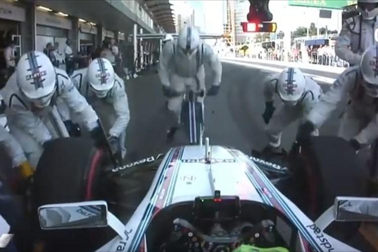 【動画】早すぎてわからない! ピットストップの最速記録を更新したF1レーシングチーム