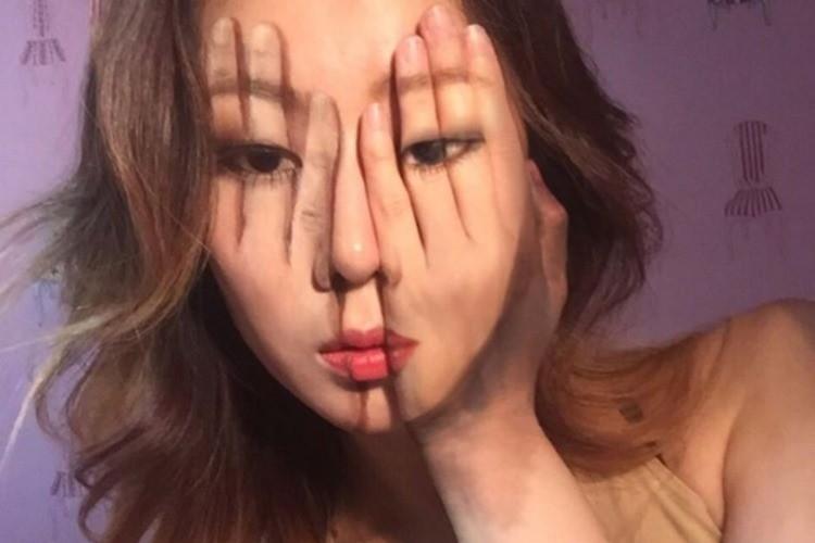 目の錯覚を操る女子大生アーティストのフェイスペイントに惹き込まれる