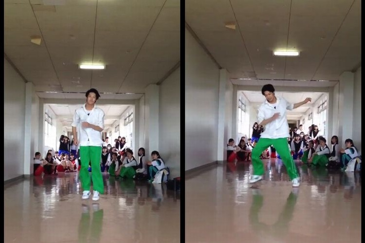 iPhoneの着信音でダンスする高校生がかっこ良すぎ!