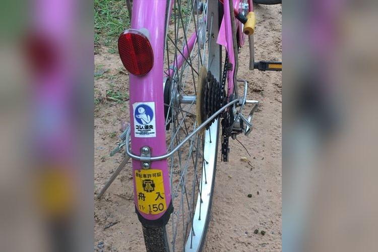 奇跡の再会!広島で無くなった自転車がカンボジアで活躍しているのをTwitterで発見し話題に!
