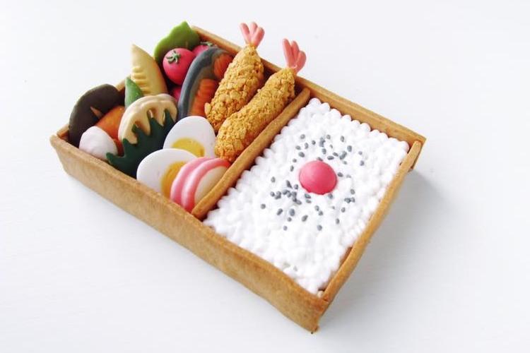 アイシングクッキーのお弁当が凄い!おかず一品一品のクオリティも高く、ずっと眺めていられる…