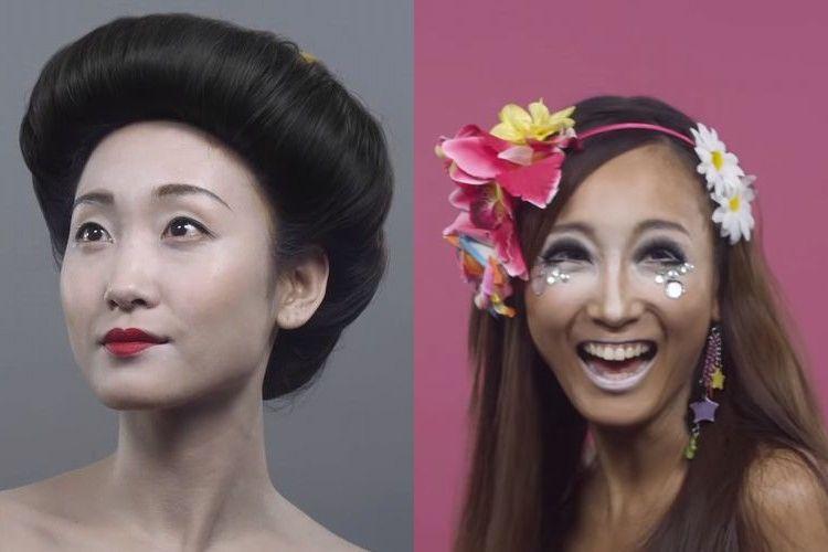 日本ってこんなに変わったの!?100年前からの髪型トレンドがめちゃくちゃ興味深い!