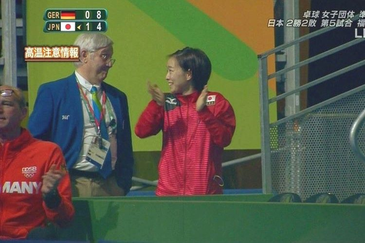 【卓球女子団体】退場させられても応援し続ける石川選手の姿が「可愛すぎる」と話題に!