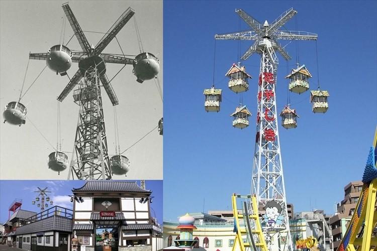 「56年間ありがとうございました」浅草花やしき 名物タワーが老朽化のため引退へ
