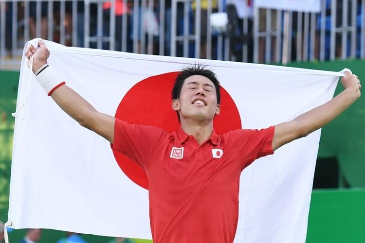 96年ぶりの快挙! テニス 錦織圭が銅メダル獲得! 3位決定戦でナダルを破る