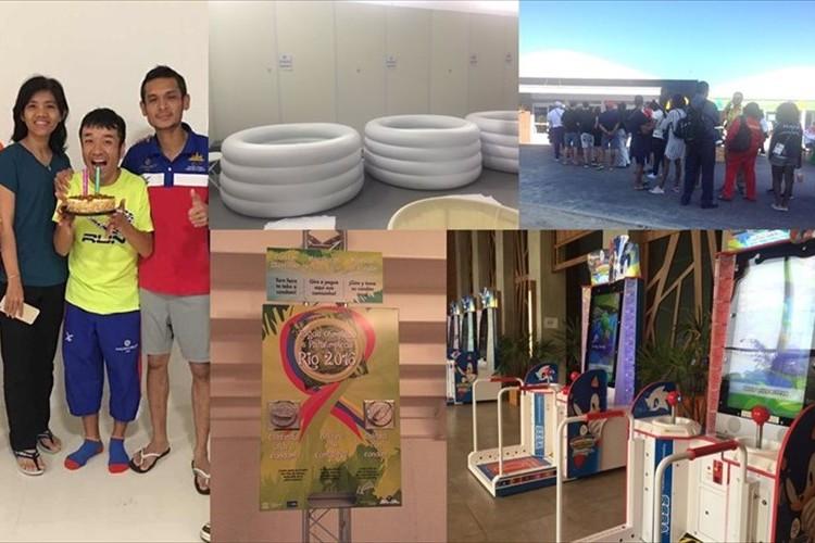 マラソン カンボジア代表・猫ひろしがツイートする選手村のアレコレに興味津々!
