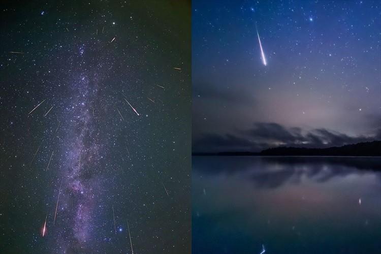 夢のような世界…ペルセウス座流星群をとらえた美しい写真の数々 北海道幌加内町