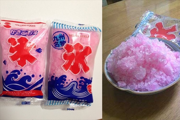 「袋入りかき氷」牛乳や練乳プラスで美味しさ爆発!みんなのアレンジ!