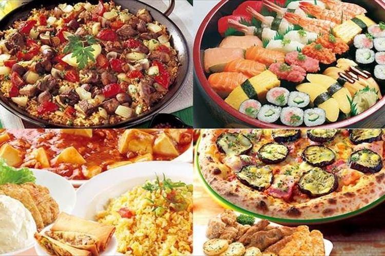 """なんと! 期間中なら、ピザや寿司を""""何品頼んでも&何回頼んでも""""毎日半額!"""
