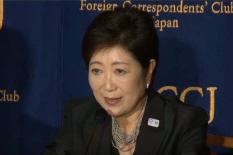 外国人記者からのいじわるな質問に対して小池百合子知事が上手い切り返しで魅せる