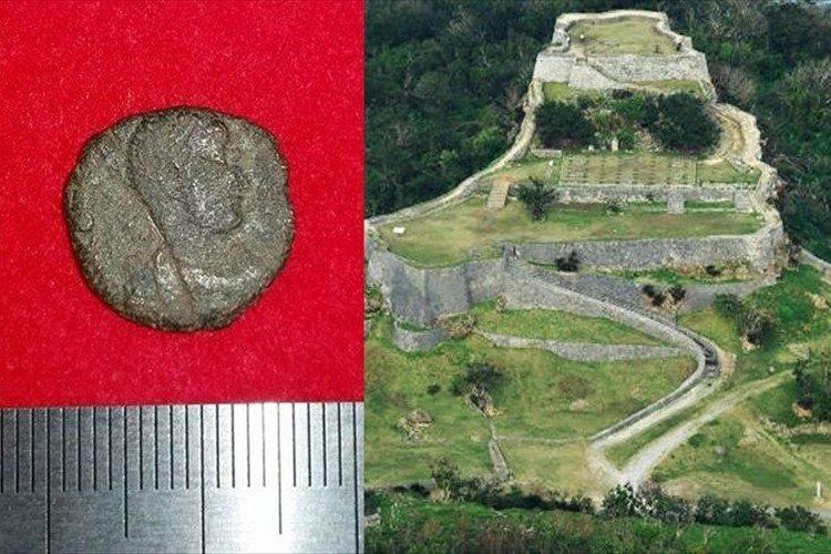 ロマンを感じる…国内初! ローマ帝国のコインが沖縄の世界遺産 勝連城跡から出土!