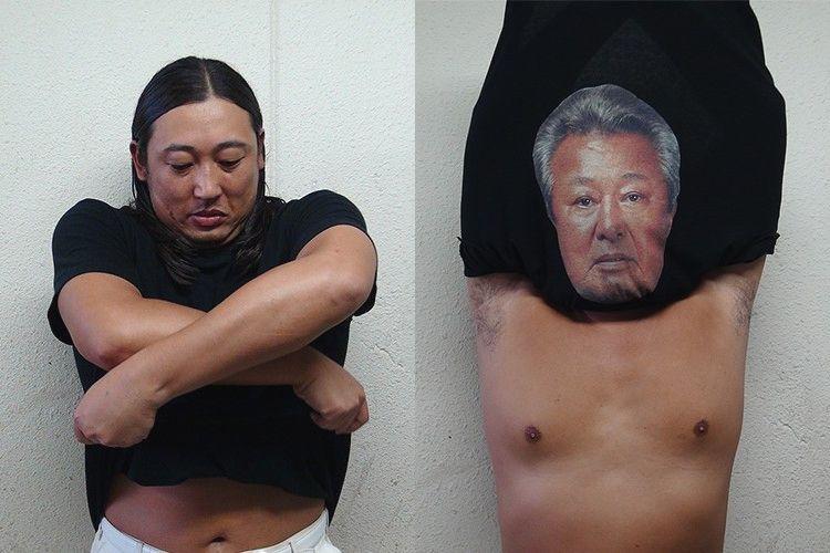 ロバート秋山プロデュース「体モノマネTシャツ」がついに発売!誰でも梅宮辰夫に変身できる!