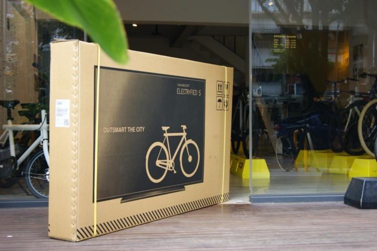 自転車の配送ダンボールになぜテレビが!?天才的アイディアに世界中が絶賛!