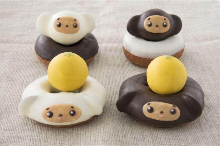 可愛すぎてメロメロ…『チェブラーシカ』のドーナッツが超絶キュート!