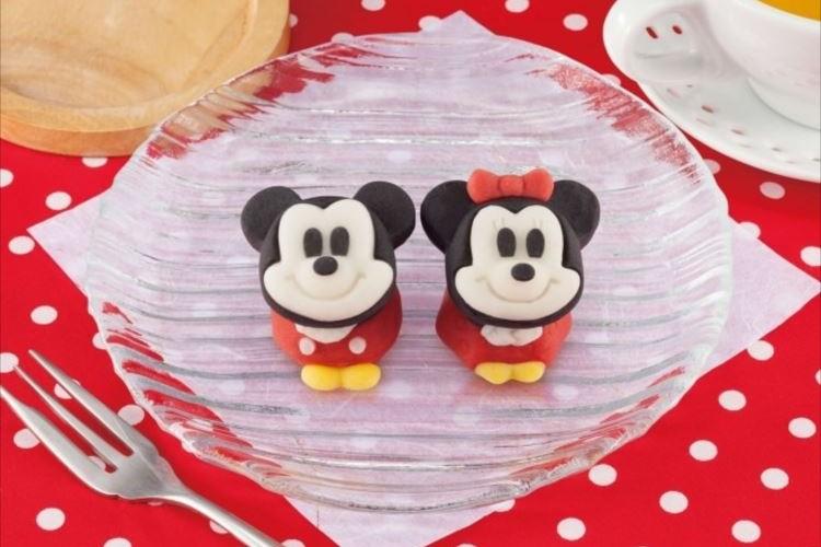 ディズニーファン必見!ミッキーとミニーが可愛すぎる和菓子になって登場!