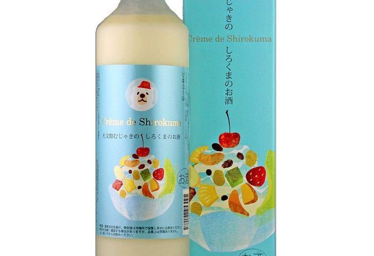 """これは見逃せない…!鹿児島のご当地デザート""""しろくまアイス""""がお酒になった!"""