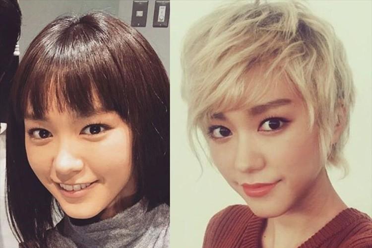 桐谷美玲がフワッとした金髪ショートヘアにイメチェン! その変身ぶりに賛否両論