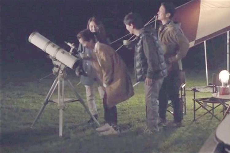 三菱自動車のCMで天体望遠鏡の鏡筒の向きが逆さまに…顧客から指摘受ける事態に