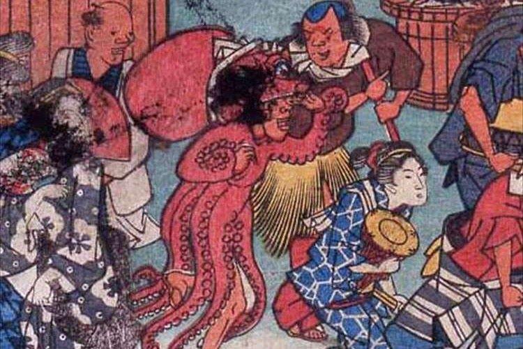 江戸時代にはタコや魚や大根の仮装をしていたなんて! 日本人は昔から仮装好き!?