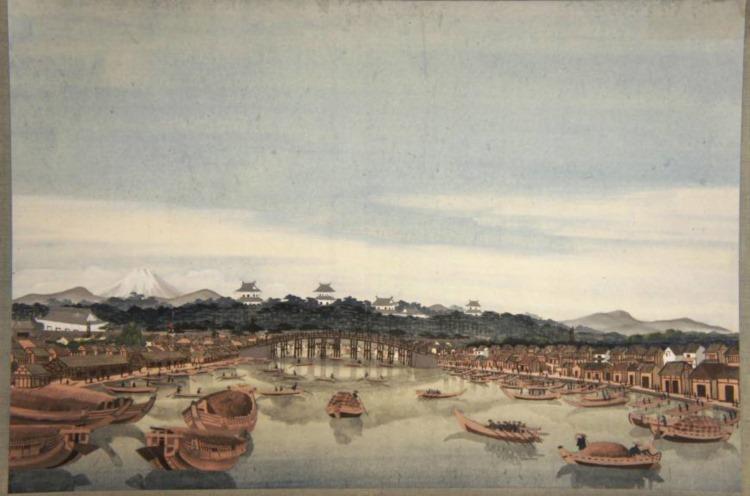 北斎が水彩画を描いていた!?オランダに貯蔵されていた作者不明6枚の絵画が北斎のモノだと判明