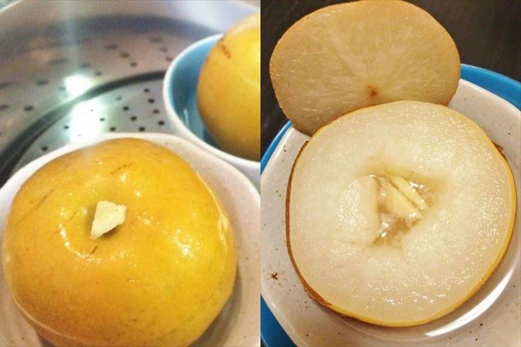 喉の痛みに効果アリ!?漢方専門店がオススメする「梨の薬膳デザート」が簡単すぎてヤバイッ!