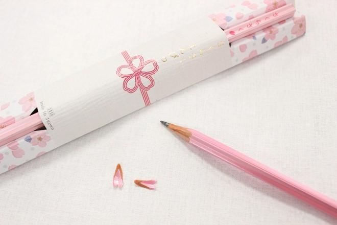 『さくらさく…』受験生への贈り物に、削りカスが桜の花びらになる鉛筆が登場