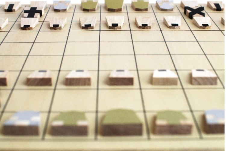 """将棋初心者のために、駒の動き方がひと目で分かる""""大明駒""""がユニーク&便利"""