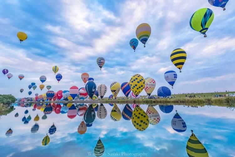 気球といえば佐賀!80万人以上訪れるバルーンフェスタが今年もめちゃくちゃいい景色