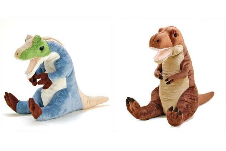 ちょこんと座っていて愛くるしい~!おすわりシリーズの恐竜が欲しくなるほど素朴でカワイイ!