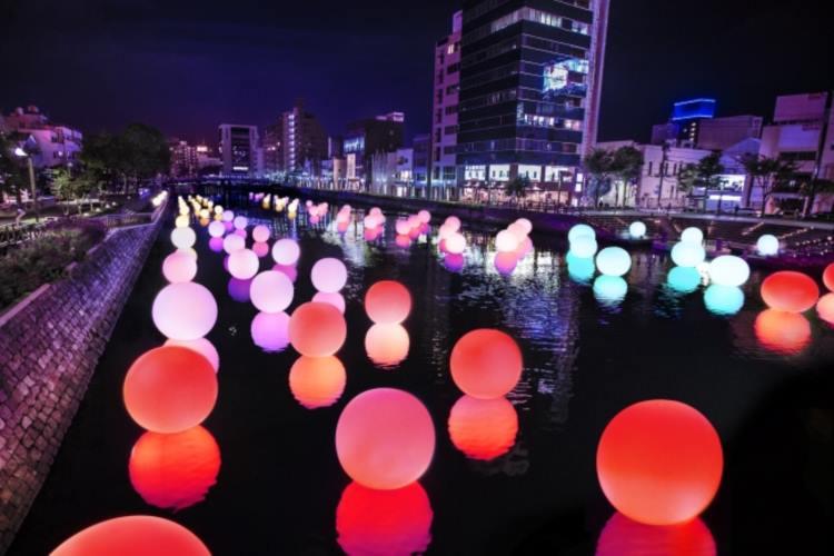 徳島の自然がそのままアートに。街中がそのまま会場になる「徳島LEDアートフェスティバル2016」が素敵