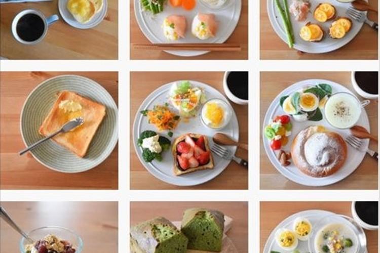 毎日素敵な朝食をインスタに投稿してたけど、赤ちゃんができたらパン1枚に。こういうところも含めて好きと共感の声