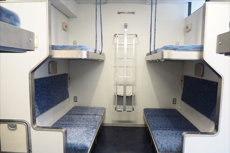 もう一度あの寝台列車に…ブルートレイン「北斗星」を再現したホステル12/15ついにOPEN!