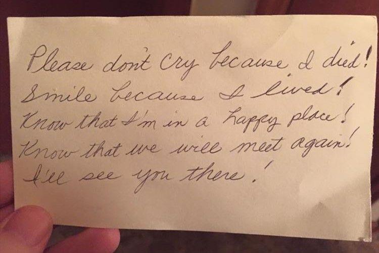 「泣かないで、いつも笑顔でいてね」60年間連れ添った妻の天国からの手紙に思わず涙がホロリ