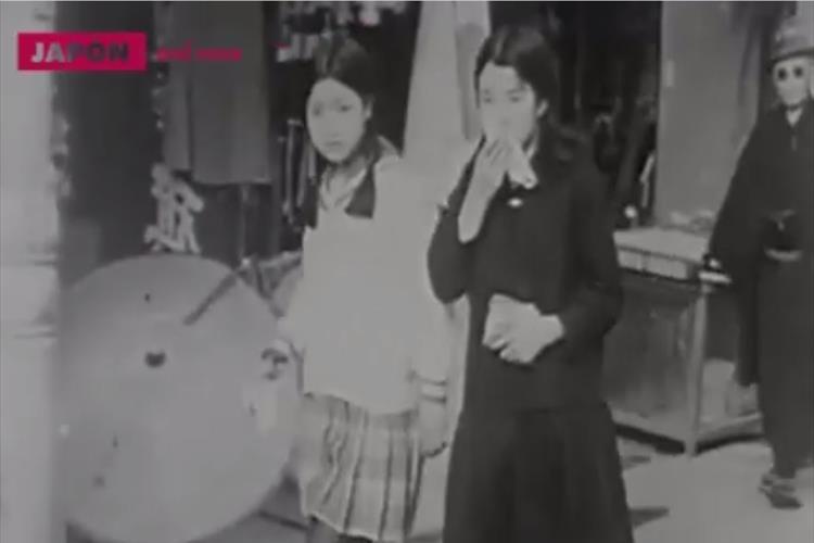 「今と変わらない格好をしている」戦前の日本の女子高生等を撮影した動画が話題に!