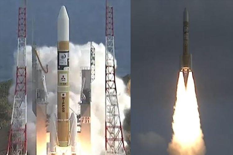 無事に成功! 気象衛星「ひまわり9号」打ち上げの瞬間 もの凄い勢いで飛び立った!