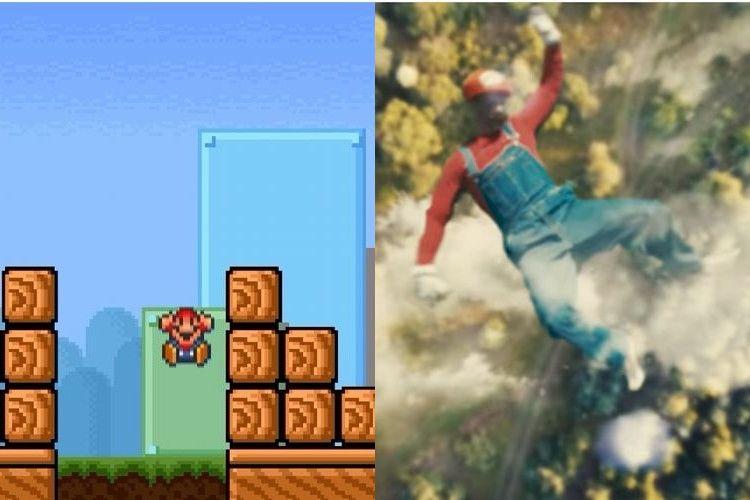 マリオのダークサイド!マリオの下の世界を実写化した動画を紹介!