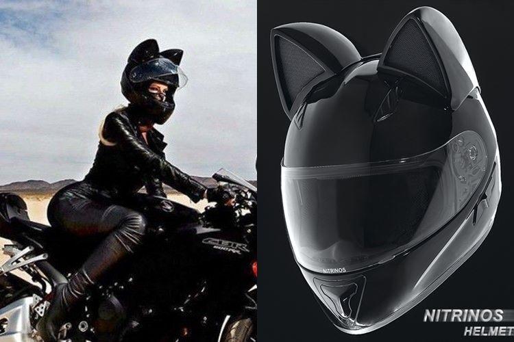 """次の流行はこれ!?ロシア発のセクシーでクールな""""ネコ耳ヘルメット""""が日本に上陸!"""
