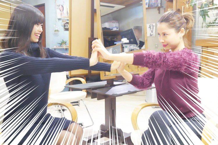 六本木キャバ嬢、黒崎ひなのと現役学習院お嬢様が『美』をテーマに白熱バトル!シャンプーのお陰でなぜか仲直り!?