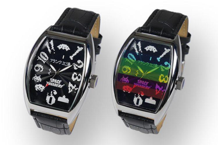ダサかっこいい!「フランク三浦」が「スペースインベーダー」とのコラボ時計を発売