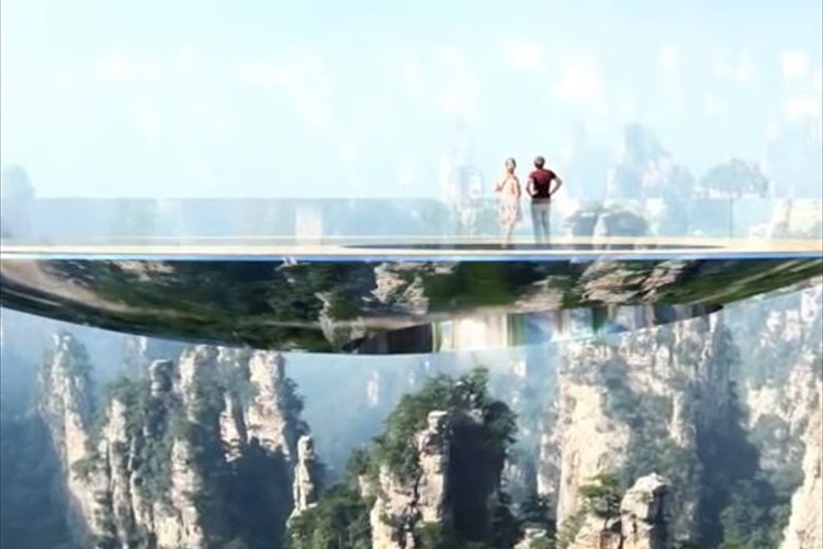 まるで空中を歩いているような錯覚に!? 中国で再び斬新な橋が建設されるらしい