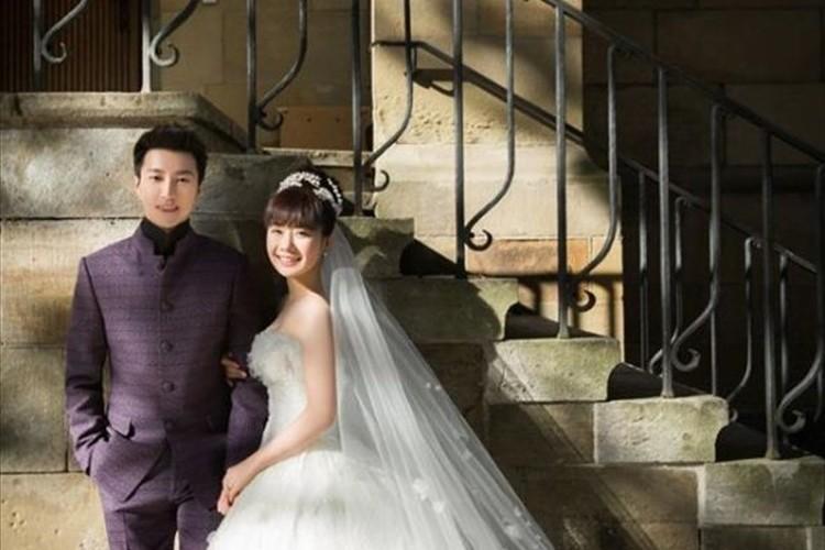 本当に美しくて絵になる二人…福原愛・江宏傑夫妻がウエディング写真を公開!